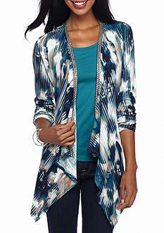 Nine West Jeans Hailey Floral Cardigan