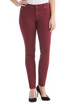 Nine West Jeans Mid Rise Skinny Jean