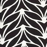 Pink Blouse: Black Leaf Kaari Blue™ Print Tie Sleeve Blouse