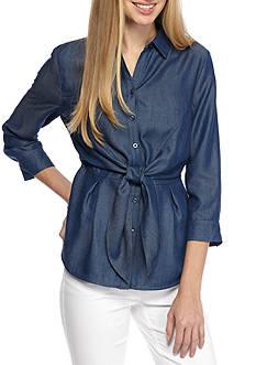 Kaari Blue™ Tie Front Shirt