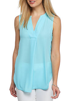 Kaari Blue™ Placket Front Tunic