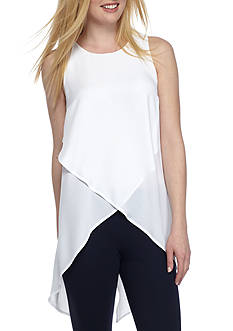 Kaari Blue™ Sleeveless Woven Duster Top