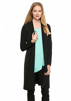 Kaari Blue™ Long Solid Knit Cardigan