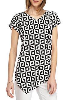 Kaari Blue™ Short Sleeve Printed Top