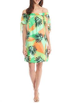 Kaari Blue™ Printed Off The Shoulder Dress