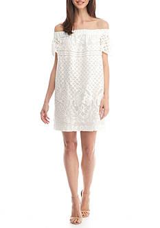 Kaari Blue™ Off The Shoulder Lace Dress