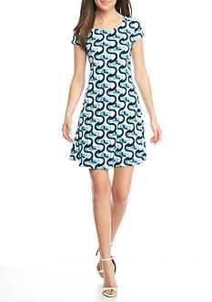 Kaari Blue™ Print Swing Dress