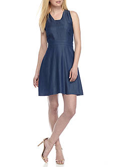 Kaari Blue™ Sleeveless Open Back Dress