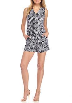 Kaari Blue™ Sleeveless Matte Jersey Romper