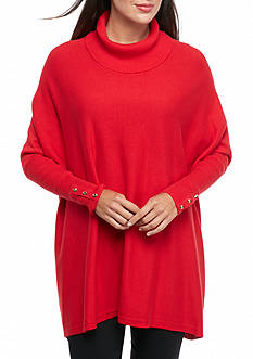 Kaari Blue™ Cowl Neck Dolman Sleeve Sweater