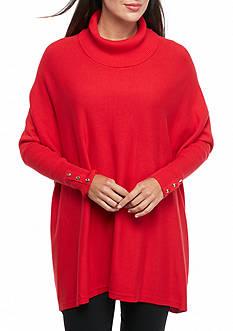 Kaari Blue™ Cowl Neck Dolman Sleeve Sweater