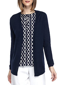 Kaari Blue™ Roll Tab Cardigan
