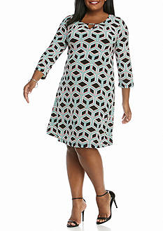 Kaari Blue™ Plus Size Swing Dress