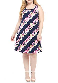 Kaari Blue™ Plus Size Sleeveless Swing Dress