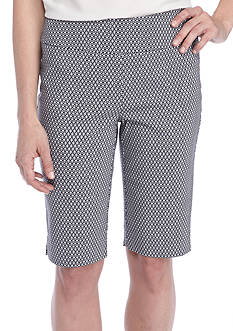 Kaari Blue™ Pull On Print Bermuda Short