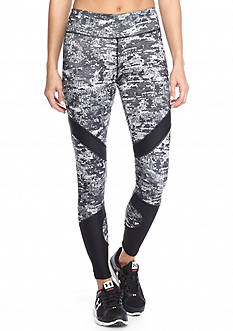 Jessica Simpson Mesh Insert Printed Leggings