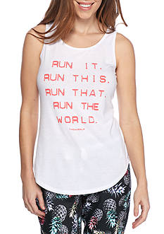 Jessica Simpson Run It Graphic Tank Top