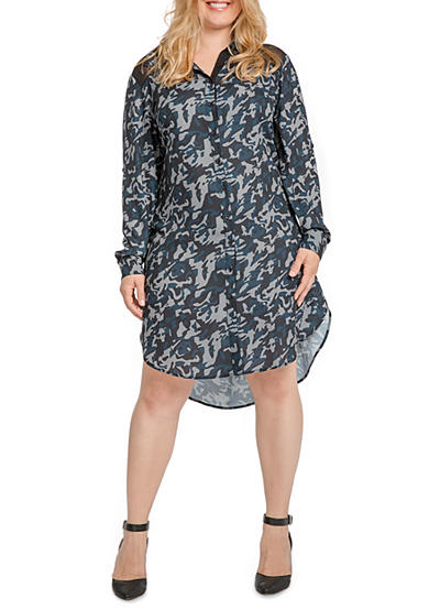 Standards and Practices Solemn Shirt Dress