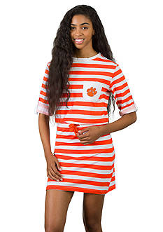 Flying Colors Clemson Tigers Tie Breaker Dress