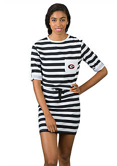Flying Colors Georgia Bulldogs Tie Breaker Dress