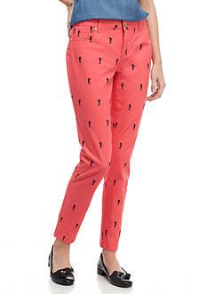 Crown & Ivy™ Petite Seahorse Pink Pants