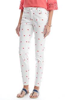 Crown & Ivy™ Ellie Embroidery Pants