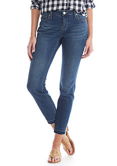 Crown & Ivy™ Skinny Ankle Length Jeans