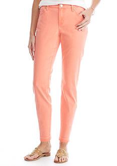 Crown & Ivy™ Release Hem Skinny Ankle Jeans