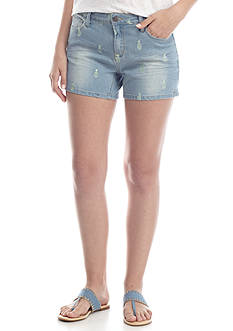Crown & Ivy™ Washed Denim Short
