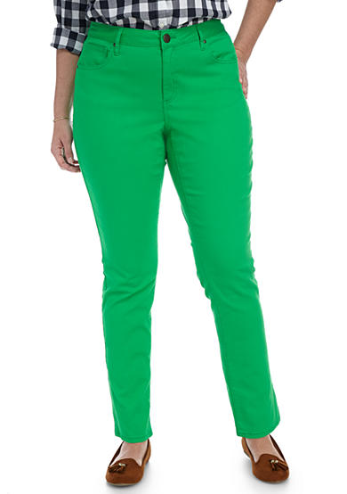 Crown & Ivy™ Plus Size Colored Jean