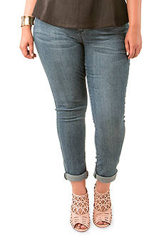 Poetic Justice Scarlett Mid Rise Skinny Jeans