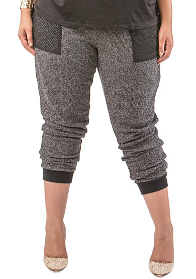 Poetic Justice Plus Size Taryn Jogger Pants