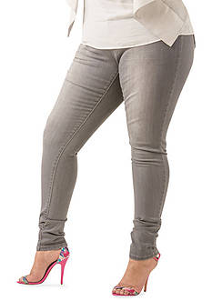 Poetic Justice® Scarlett Mid Rise Skinny Jeans