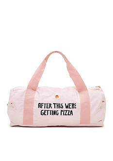 ban.do Work It Out Gym Bag - 'After This We're Getting Pizza'