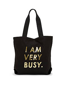 ban.do I am very busy-Canvas Tote
