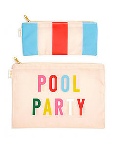 ban.do carryall duo - pool party + national stripe