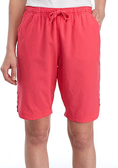 Kim Rogers® Lace Tulip Hem Sheeting Shorts