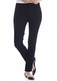 New Directions Petite Ponte Skinny Pant