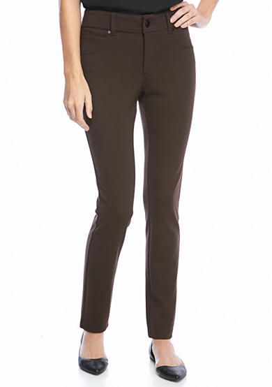 New Directions® Petite Ponte Skinny Pant