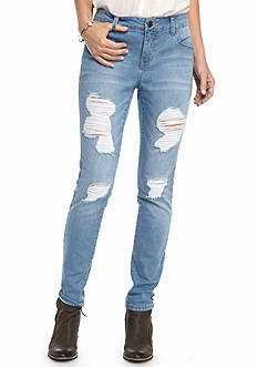 New Directions 5 Pocket Skinny Jeans