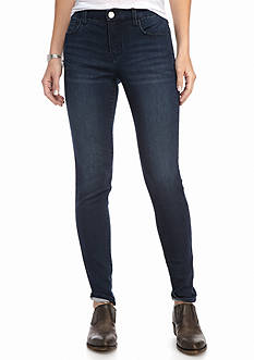 New Directions Basic 5 Pocket Knit Skinny Jeans