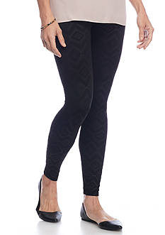 New Directions Tuscan Patterned Legging
