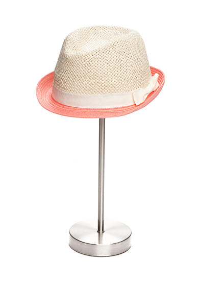 Red Camel® Two-Tone Straw Fedora Hat
