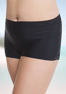 Aqua Couture Plus Size Beach Club Solid Shorts