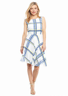 ABS® Allen Schwartz Petite Printed Dress