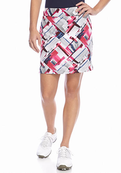 IZOD Brush Stroke Printed Skort