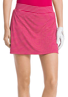 IZOD Striped Knit Skort