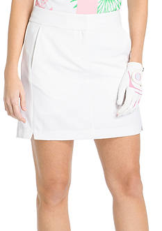 IZOD Basic Notched Microfiber Skort