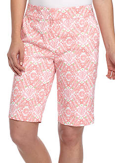 IZOD Printed Bermuda Shorts