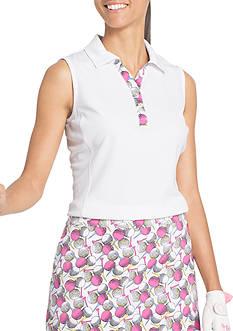 IZOD Golf Ball Printed Polo Top
